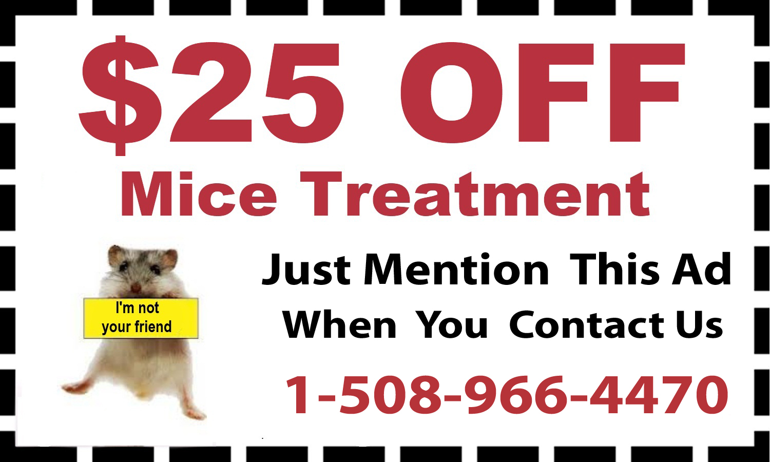 mice treatment coupon