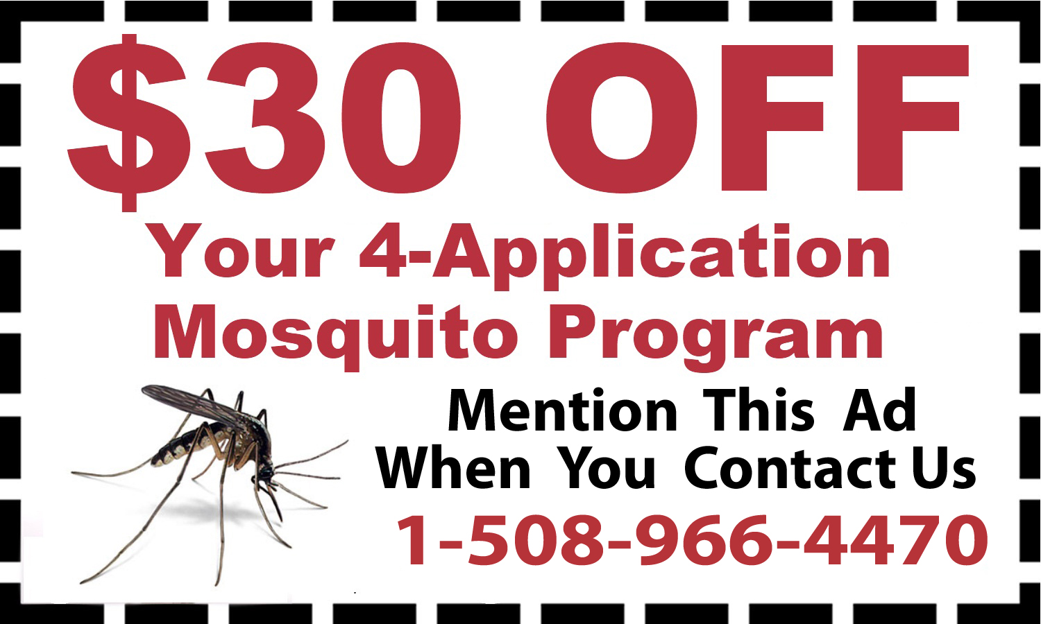 Mosquito Control Treatments Cumberland, MA